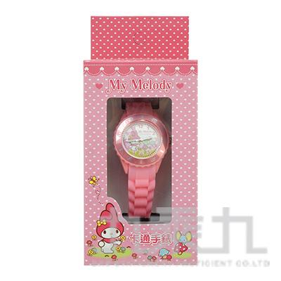 美樂蒂卡通石英錶(粉色) S7-1022M