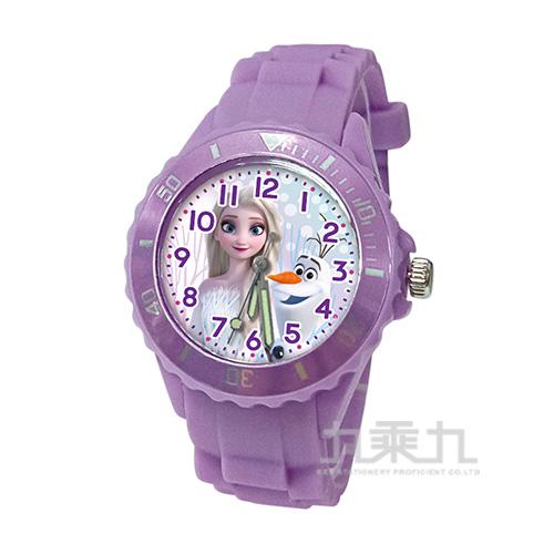 冰雪奇緣兒童矽膠錶-U5-3071(紫色)