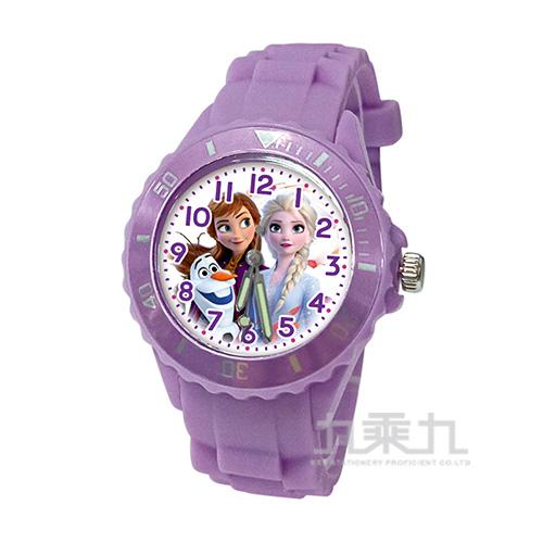 冰雪奇緣兒童矽膠錶-U5-3072(紫色)