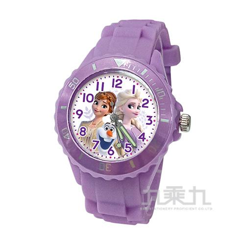 冰雪奇緣兒童矽膠錶-U5-3074(紫色)