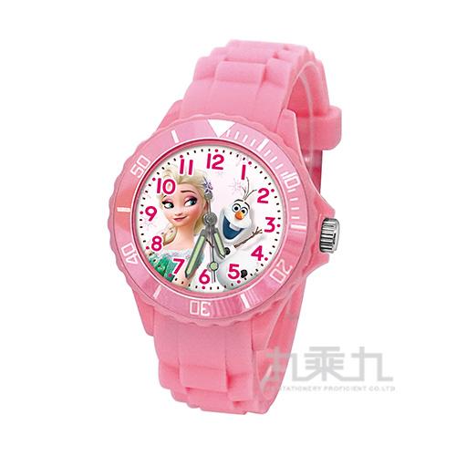 冰雪奇緣兒童矽膠錶-U5-3076(粉色)