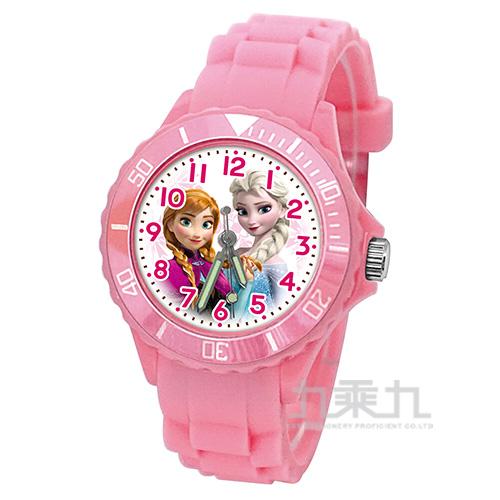 冰雪奇緣兒童矽膠錶-U5-3077(粉色)
