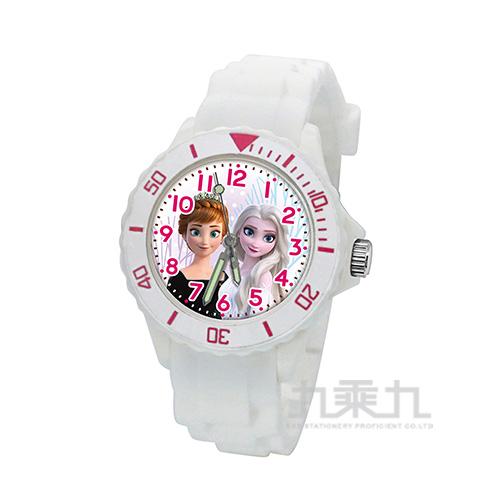 冰雪奇緣兒童矽膠錶-U5-3084(白色)