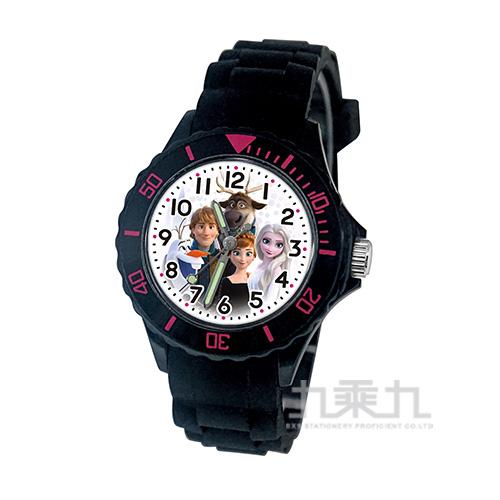 冰雪奇緣兒童矽膠錶-U5-3085(黑色)