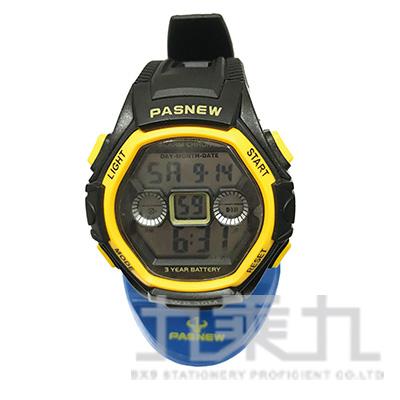聖牛電子男錶-黃 PSE-251BN3