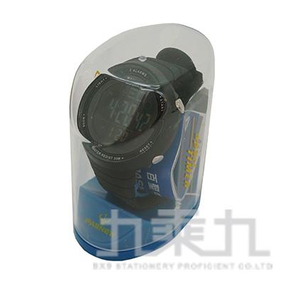 百聖牛電子錶-黑 PSE-445B-N1