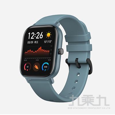 Amazfit華米GTS魅力版智能運動心率智慧手錶-紳士藍