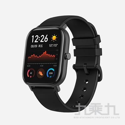 Amazfit華米GTS魅力版智能運動心率智慧手錶-消光黑