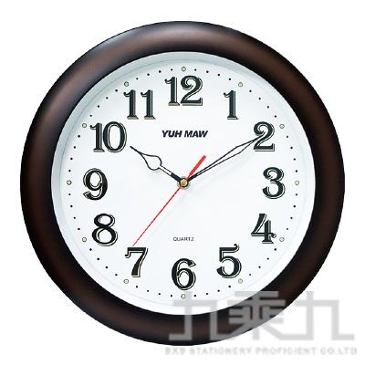 13吋咖啡夜光靜音時鐘 SC-YM1302