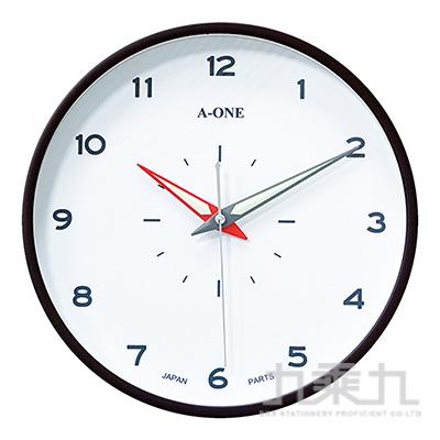 12吋靜音日系夜光彩針時鐘 TG-0277