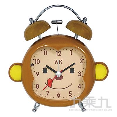 猴子雙耳打鈴靜音鬧鐘 WK-1505A