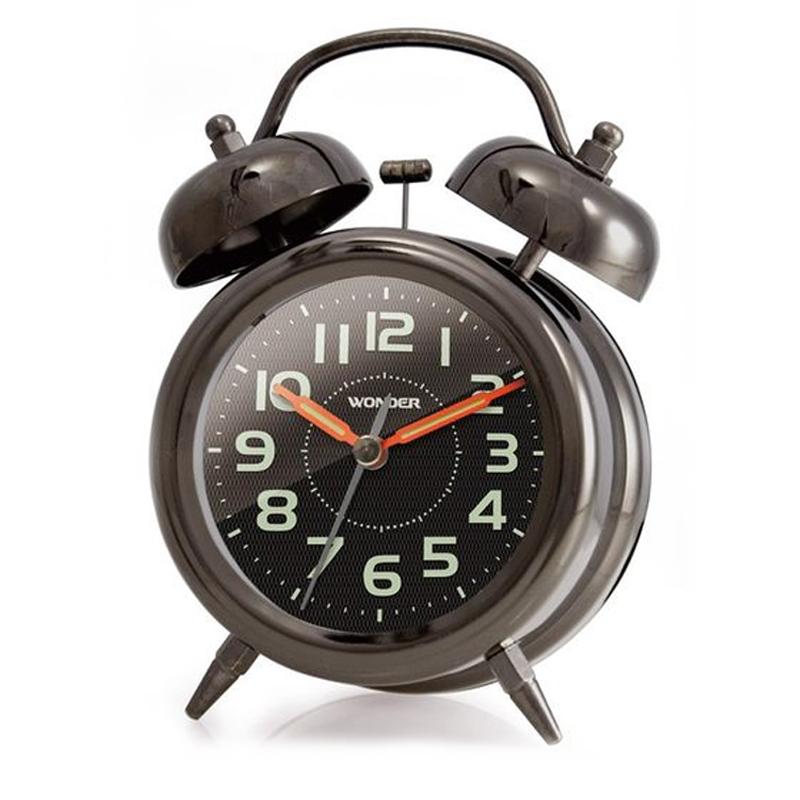 旺德WD-8402A復古響鈴鬧鐘
