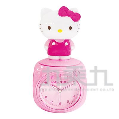 Hello Kitty公仔LED多功能音樂鬧鐘-粉 JM-F599KT-PK