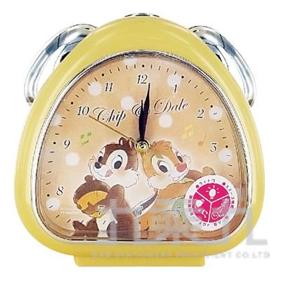 日本迪士尼卡通人物鬧鐘-花栗鼠 奇奇與蒂蒂