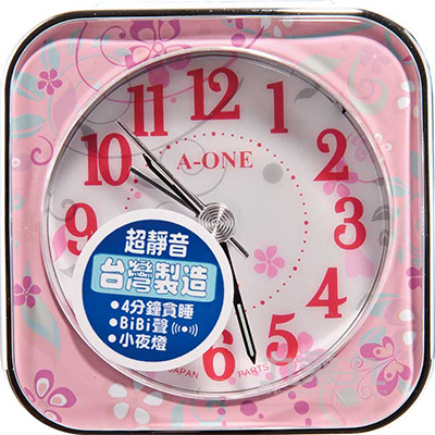 TG-0150花語系列bibi聲掃描機芯鬧鐘
