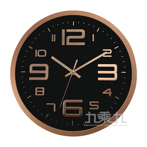 30cm立體壁掛時鐘