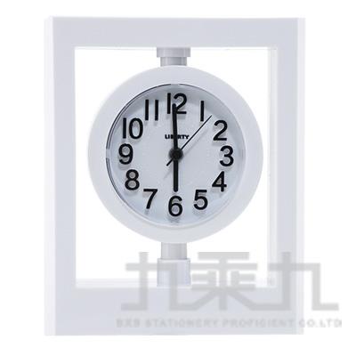 利百代造型靜音鬧鐘 LB-2012