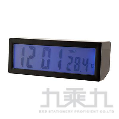A-ONE觸控語音報時藍燈液晶鬧鐘