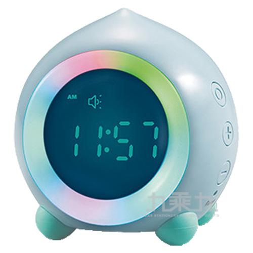 E-sense桃趣小夜燈鬧鐘(藍)