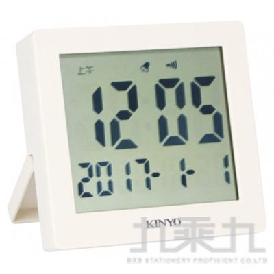 KINYO 輕巧功能電子鐘 TD389