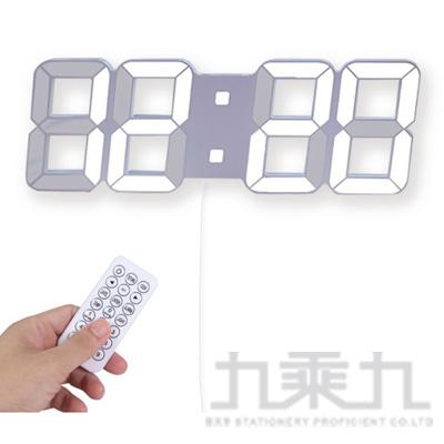 KINYO LED立體電子鐘 TD430