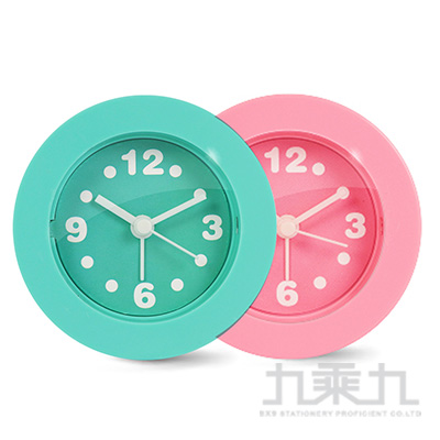 KINYO ACK-7101馬卡龍迷你鬧鐘(綠/粉)(顏色隨機)