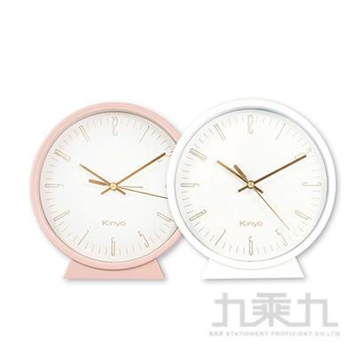 KINYO三合一桌掛鬧鐘-白 ACK-7115W