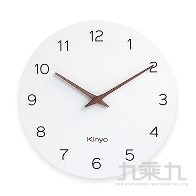 KINYO 12吋無框超薄掛鐘 CL-209