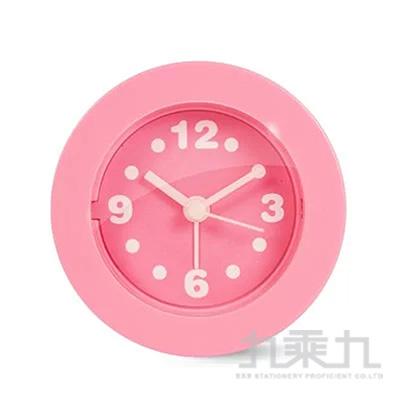 KINYO馬卡龍迷你鬧鐘(粉色) ACK-7101PI