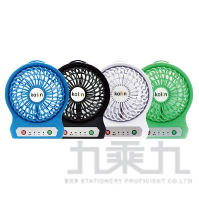 歌林5吋USB充電小風扇 KF-SH04U1