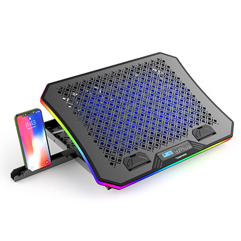 Esense G20 RGB 電競筆電散熱墊 22-WNF020BK