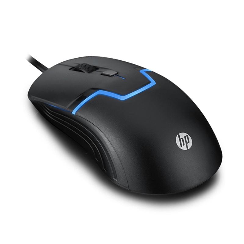 HP m100光學有線滑鼠