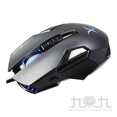 FOXXRAY FXR-SM-38-GR槍刃獵狐電競滑鼠(鐵灰)