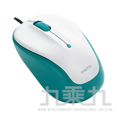 RASTO RM4 巧超靜音有線光學滑鼠 R-PCA004