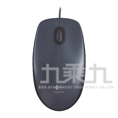羅技有線光學滑鼠USB M90