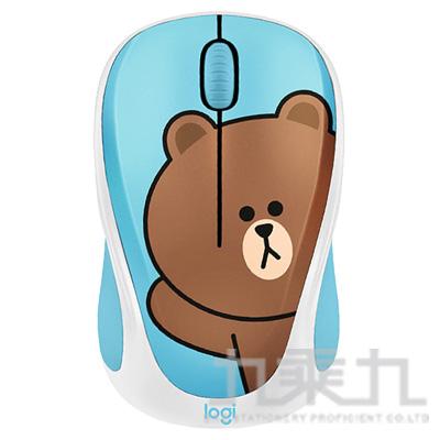 羅技 LineFriends 聯名滑鼠-熊大