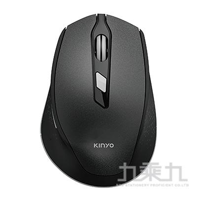 KINYO 2.4GHz無線靜音滑鼠(黑) GKM-917B
