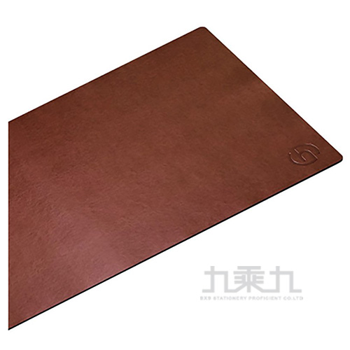 HARK 經典皮革鼠墊/辦公室桌墊(咖)