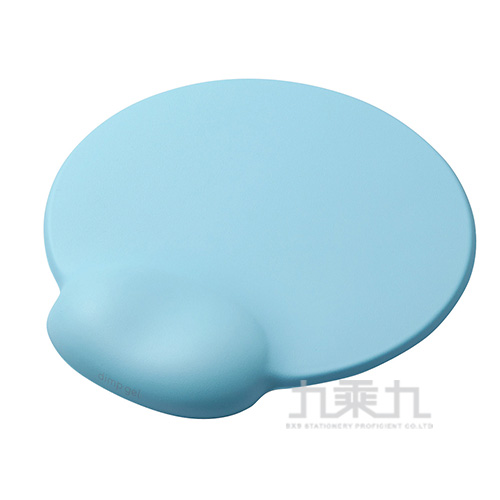 ELECOM dimp gel舒壓鼠墊-天藍(日本製)