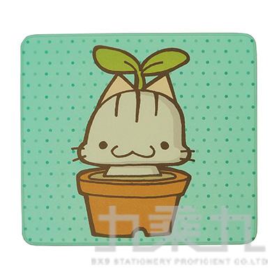 滑鼠墊(喵喵盆栽) 43602