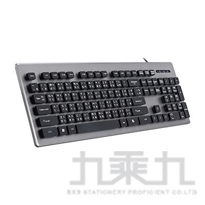 E-books Z3 仿機械手感降噪有線鍵盤E-PCG196
