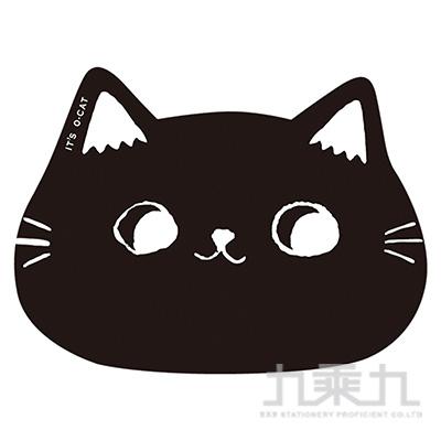 貓耳滑鼠墊(黑) JPB-32B