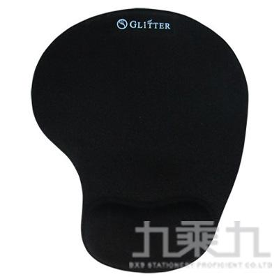 矽膠護腕滑鼠墊-黑 GT-903