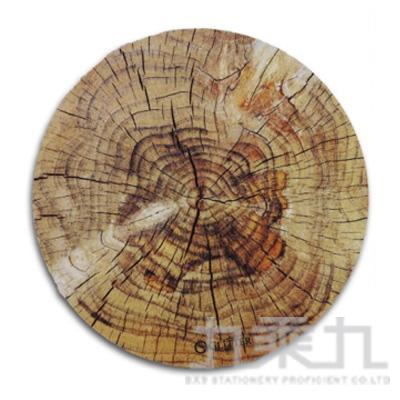 圓形木紋鼠墊 GT-916