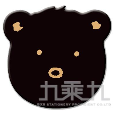 米爾熊滑鼠墊-黑 SPB-31C
