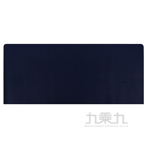 infotec 60x30cm 可擦洗皮革滑鼠墊-藍灰