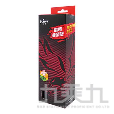 HAWK 電競滑鼠墊-紅 05-HGP300RD