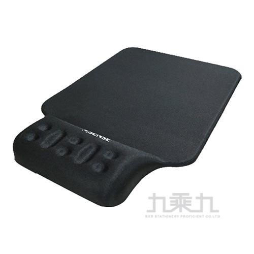 Esense P360 舒壓護腕+鼠墊(黑) 05-EWP360BK