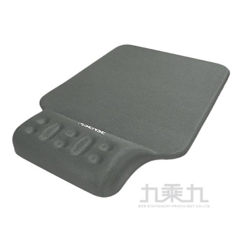 Esense P360 舒壓護腕+鼠墊(銀) 05-EWP360SL
