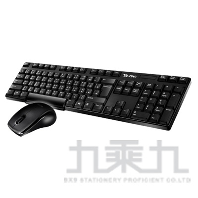 T.C.STAR無線鍵盤滑鼠組 TCK900(TCK900+TCN534)